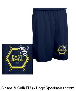 Youth basketball shorts Design Zoom