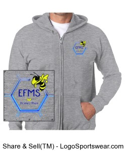 Men's Zipper Hoodie Design Zoom