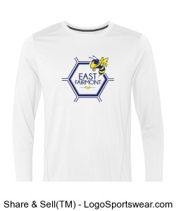 White Long Sleeve Design Zoom
