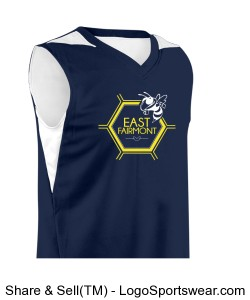 Youth Turnaround Reversible Basketball Jersey Design Zoom